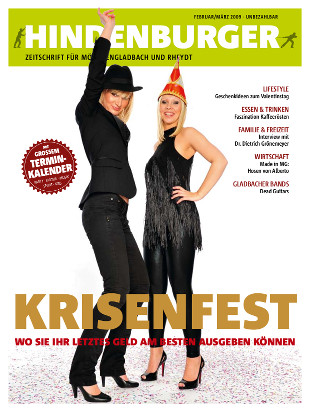Cover HINDENBURGER Februar 2009