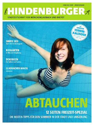 Cover HINDENBURGER Juni 2009