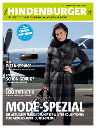 Cover HINDENBURGER September 2009