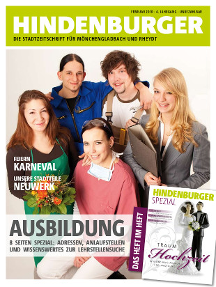 Cover HINDENBURGER Februar 2010