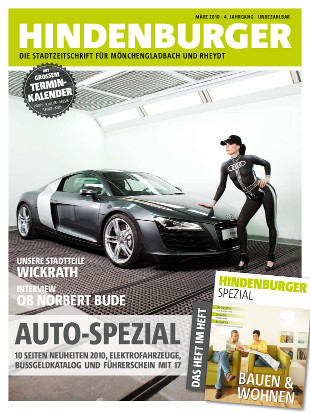 Cover HINDENBURGER März 2010