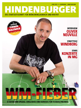 Cover HINDENBURGER Juni 2010