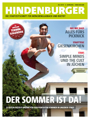 Cover HINDENBURGER Juli 2010
