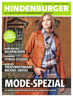 Cover HINDENBURGER September 2010