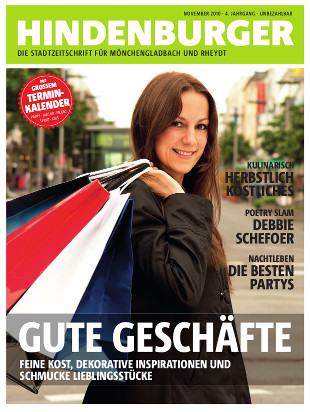 Cover HINDENBURGER November 2010