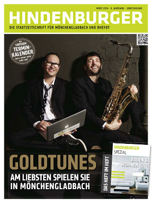 Cover HINDENBURGER März 2014