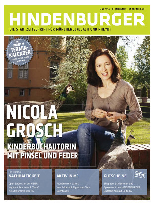 Cover HINDENBURGER Mai 2014