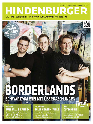 Cover HINDENBURGER Juni 2014