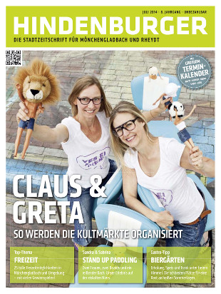 Cover HINDENBURGER Juli 2014