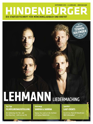 Cover HINDENBURGER September 2014