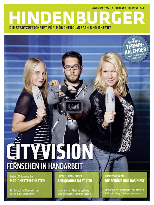 Cover HINDENBURGER November 2014